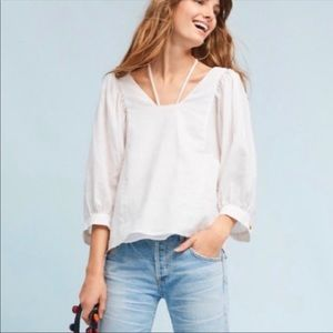 Anthropologie Tops - NWT Akemi + Kin Sylvia Balloon-Sleeved Blouse